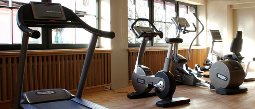 Krumers Post & Spa Hotel, Seefeld, Austria - gym.jpg